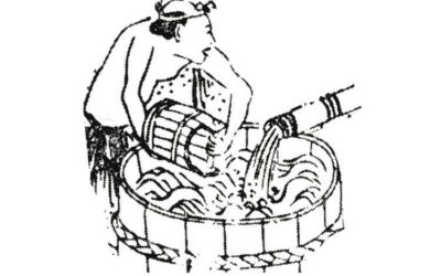 Reis Waschen historisch