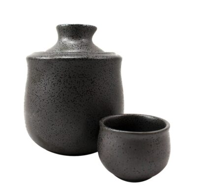 Sake-Wärmer schwarz 130 ml