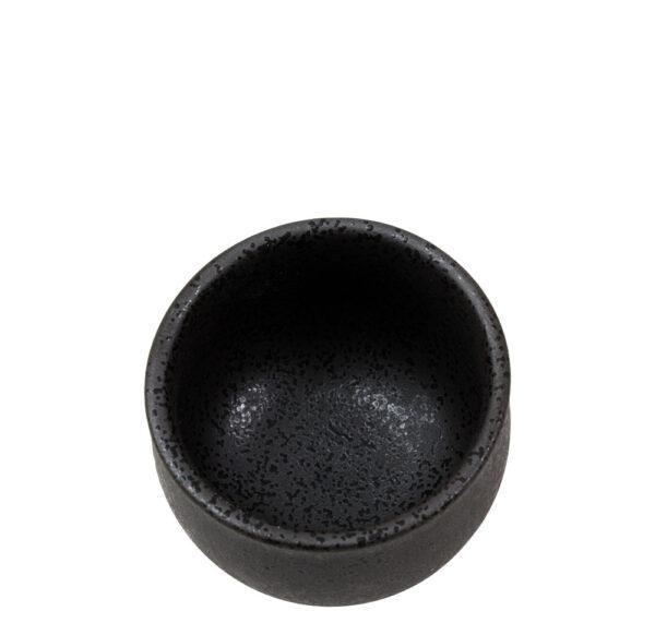 Becher für Sake-Wärmer schwarz 130 ml