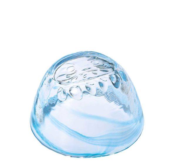 Daruma Sake-Glas blau