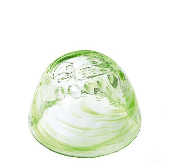 Daruma Sake-Glas grün