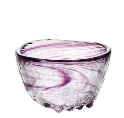 Daruma Sake-Glas violett