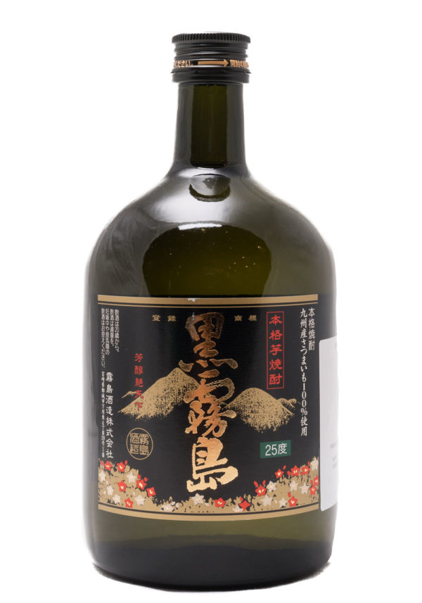 "KURO KIRISHIMA ""Schwarze Nebelinsel"" Shochu aus Süßkartoffeln 700 ml"