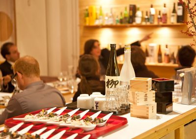Sake-Verkostung im SAKE KONTOR Berlin