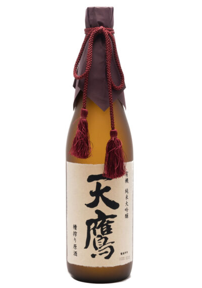 TENTAKA Organic Junmai Daiginjo Funashibori Genshu 720 ml
